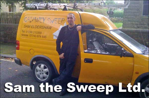 Sam the Sweep and his van